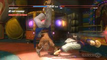 Dead or Alive 5 - Brad Wong and Eliot in Clown Town