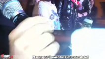Champagne Shower dans les fesses de Jeff - C'Cauet sur NRJ