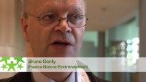 Conférence environnementale 2013 : Itw de Bruno Genty, France Nature Environnement