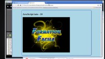10 - JavaScript - Programmation orientée objet - Formation facile