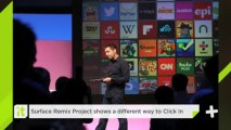 Surface Remix Project Shows A Different Way To Click In
