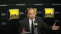 """Roms : Jean-François Copé veut mettre Schengen """"sur la table"""" - 24/09/2013"""