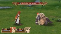 Exploring and Fighting - Tales of the Abyss Gameplay