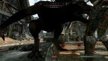 A Nord Werewolf in Whiterun - The Elder Scrolls V: Skyrim