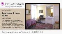 Alcove Studio Apartment for rent - St Paul, Paris - Ref. 1174