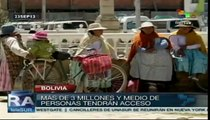 Bolivia: satélite Tupác Katari democratizará telecomunicaciones