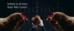 Pub Mercedes-Benz avec des Poulets! Nouvelle technologie MAGIC BODY CONTROL