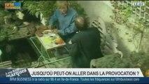 La provocation dans la publicité : Frank Tapiro, Valéry Pothain, dans A vos marques - 21/09 1/4