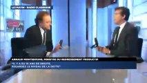 Arnaud Montebourg, invité politique de Guillaume Durand avec LCI