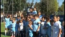 Napoli - Gesù più forte della camorra, inaugurato campo di calcio a Scampia (24.09.13)