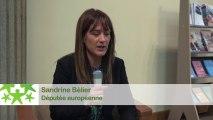 Conférence environnementale 2013 : Itw de Sandrine Bélier, députée européenne