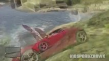GTA V - STUNTS MONTAGE - Flying Naked, Fast Cars & Stunt Jets (GTA 5 Funny Fails)