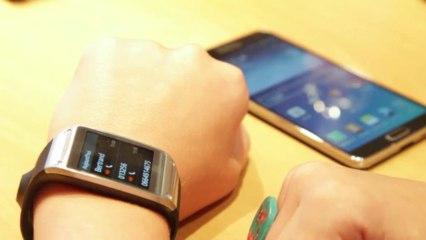 Présentation Samsung Galaxy Gear