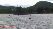 King's Cup 2013 Long Tail Boat Racing at Khao Tao Reservoir