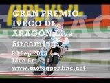 MotoGP GRAN PREMIO IVECO DE ARAGON GP 2013 Live Streaming Here