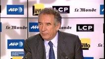 """François Bayrou : le tiers-payant est une """"déresponsabilisation de tout le monde"""""""