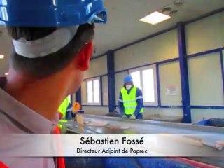 Paprec recycle 300 000 tonnes de déchets BTP par an en Ile-de-France