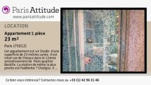 Appartement Studio à louer - Reuilly Diderot, Paris - Ref. 2654