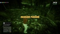 GTA 5 - Bigfoot Easter Egg Secret Mission ( GTA V Bigfoot Location) Grand Theft Auto V