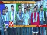 YSRCP NRI fans celebrate Jagan release in Virginia - USA