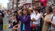 Toulon voiles de légende, la parade des équipages en images