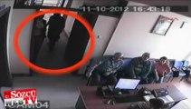 Saldırgan silahı çekti ve başkanı vurdu: Kameralar kaydetti