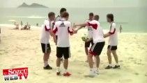 Ajax Brezilya sahillerinde antrenmanda