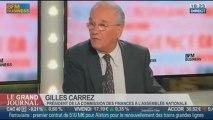 Gilles Carrez, président de la commission des finances à l'Assemblée Nationale, dans Le Grand Journal - 26/09 2/4