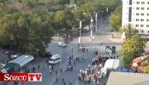 Sözcü TV kameralarından Ankara'da müdahale!