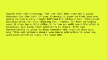 Very Effective Psychological Tricks to Get Your Ex Girlfriend Back!