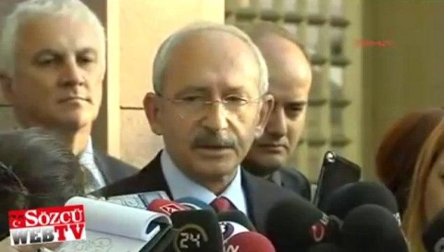 Kılıçdaroğlu'ndan Köşk çıkışı açıklama