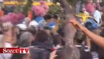Taksim Meydanı'nda polis müdahalesi