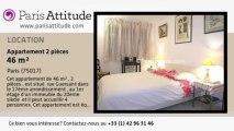 Appartement 1 Chambre à louer - Porte Maillot/Palais des Congrès, Paris - Ref. 7012