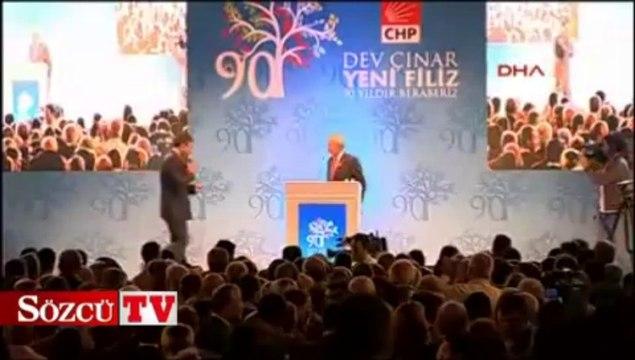 CHP Lideri Kılıçdaroğlu partisinin 90. kuruluş yıldönümünde konuştu