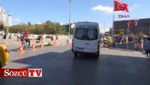 Taksim Meydanı'nda yeni düzenleme