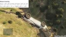 GTA 5 Cheats - MOON GRAVITY CHEAT CODE! (Grand Theft Auto V Moon Jump Cheat)