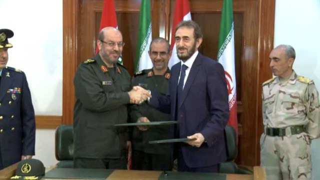 Iraqi defense minister ends official visit to Tehran