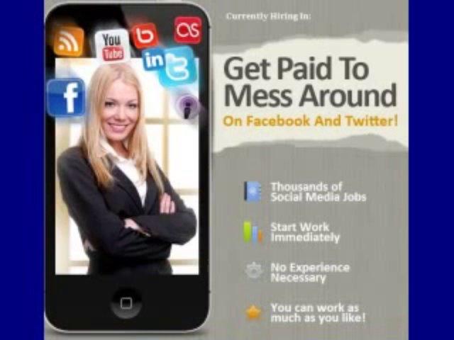 The Best Social Media Jobs-Best Legit Online Jobs From Home+[GET]Paid Social Media Jobs