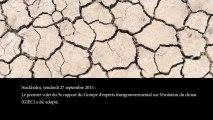Publication du premier volume du 5e rapport du GIEC sur l'évolution du climat