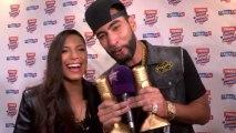 La Fouine et Zaho stars des Trace Urban Music Awards