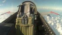 Avion de chasse F-16 sans pilote