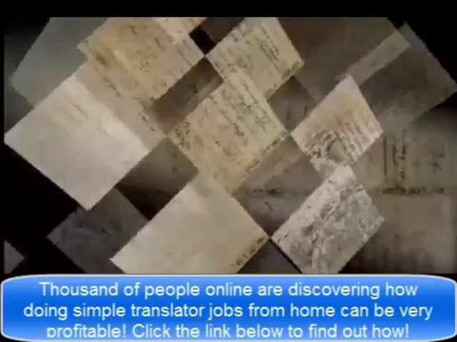 Jobs you can Work from Home | Real Translator Jobs Real | Work from Home Translation Jobs