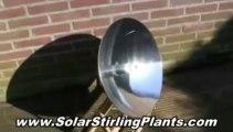 The Future In Renewable Alternative Energy, Solar Stirling Plant - Free Solar Energy