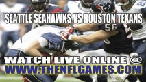 Watch Seattle Seahawks vs Houston Texans Live NFL Streaming Online