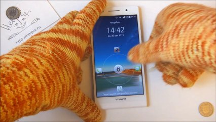 Huawei Ascend P6 - демонстрация работы