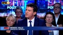BFM Politique: l'interview BFM business, Manuel Valls répond aux questions de Hedwige Chevrillon - 29/09