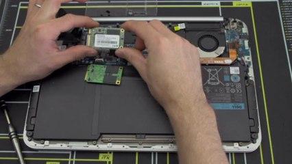 DELL XPS 12 mSATA SSD Upgrade Guide