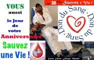Toi aussi le Jour de ton Birthday/ Anniversaire  Sauves une Vie  en 30 Minutes EFS Guadeloupe Yannis MALAHÊL 05 Mars 2012