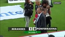 Liga Adelante Mirandés 1 Ponferradina 0