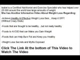 How to Lose Weight Quickly - The truth about Fat Burning Foods - How To Lose Weight Fast